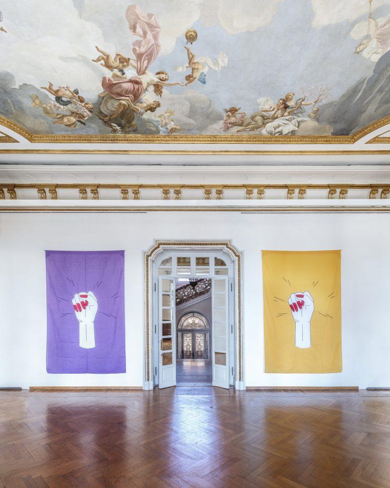 Sylvie Fleury @ Istituto Svizzero, RomaChaussures italiennes
