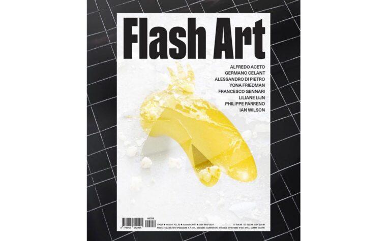 Alfredo Aceto @ Flash Art ItaliaAutunno 2020