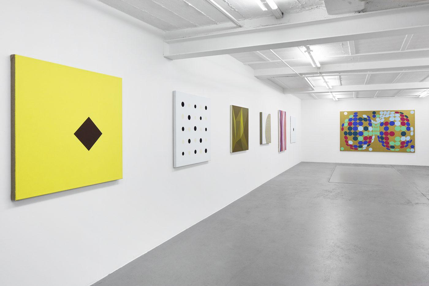 Galerie Lange + Pult – Double Crème : Une anthologie de l'abstraction en Suisse romande