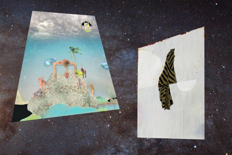 Olivier Mosset @ MRACLa vie dans l`espace