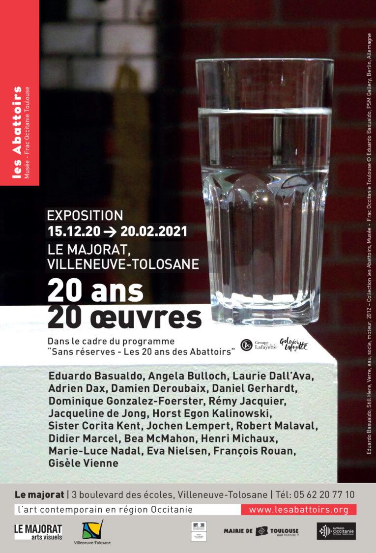 Didier Marcel @ Collection les Abattoirs, Musée Frac Occitanie, Toulouse20 ans – 20 œuvres